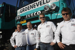 The IVECO trucks of Team de Rooy