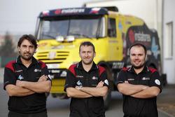 Ales Loprais, Michal Ernst, Petr Almasi