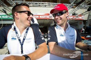 Christian Klien and Stefan Mücke