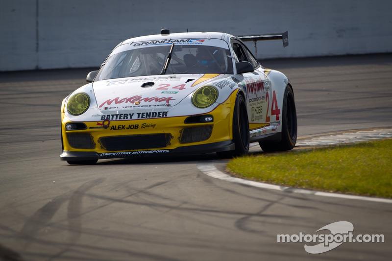 #24 Alex Job Racing Porsche GT3: Michael Avenatti, Bob Faieta, Fred Poordad, Bill Sweedler, Cort Wagner