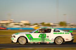 #49 Roush Performance Mustang Boss 302R: Roly Falgueras, Bryan Ortiz