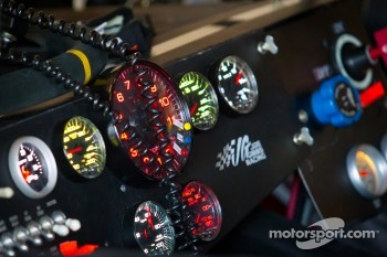 Instrument panel for Joey Logano, Joe Gibbs Racing Toyota