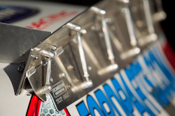 Rear wing for Trevor Bayne, Wood Brothers Racing Ford