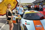 #8 Gulf Racing Lamborghini Gallardo LP600: Fabien Giroix, Frederic Fatien