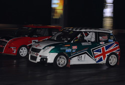Suzuki Swift Racing In the Live Action Arena