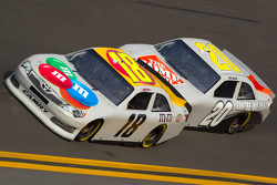 Kyle Busch, Joe Gibbs Racing Toyota and Joey Logano, Joe Gibbs Racing Toyota