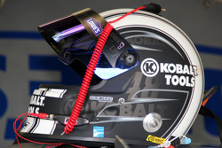Helmet of Jimmie Johnson, Hendrick Motorsports Chevrolet