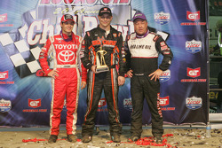 Kyle Larson, Kevin Swindell and Sammy Swindell