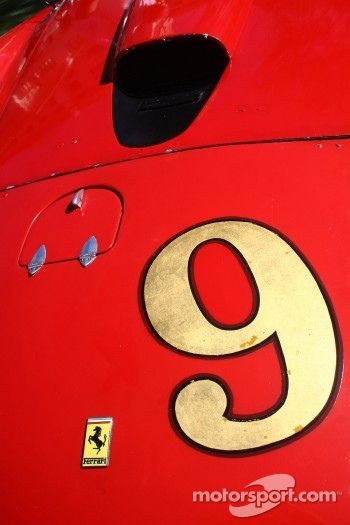 Ferrari 375MM Spyder detail