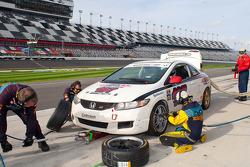 #197 RSR Motorsports Honda Civic SI: Chris Puskar, Randy Smalley, Owen Trinkler
