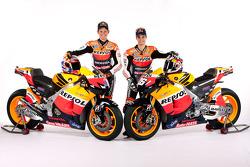 Casey Stoner and Dani Pedrosa, Repsol Honda Team