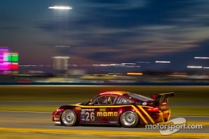 Nick Tandy at Daytona 24 with #26 NGT Motorsport Porsche GT3 team
