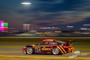 Nick Tandy at Daytona 24 with #26 NGT Motorsport Porsche GT3 team