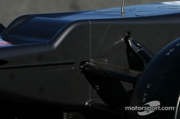 Technical detail front nose - Sauber C31 Ferrari Launch