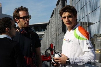 Nicolas Todt, Drivers manager with Jean-Eric Vergne, Scuderia Toro Rosso and Jules Bianchi, Sahara Force India Formula One Team, test driver