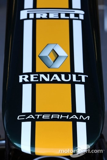 Caterham F1 Team nose cone