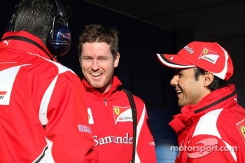 Rob Smedly, Scuderia Ferrari, Chief Engineer of Felipe Massa, Scuderia Ferrari