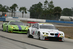 #55 BMW Team RLL BMW E92 M3: Bill Auberlen, Jorg Muller