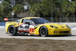 #70 Labre Competition Chevrolet Corvette C6R: Christophe Bourret, Pascal Gibson