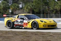 #70 Labre Competition Chevrolet Corvette C6R: Christophe Bourret, Pascal Gibson