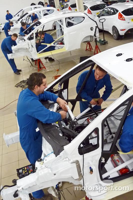 Ford Motor Company Linkedin >> M-Sport Poland works on the WRC Academy Ford Fiesta RS at FIA WRC Academy
