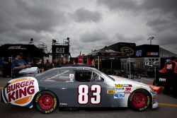Car of Landon Cassill, BK Racing Toyota