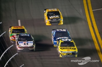 Marcos Ambrose, Richard Petty Motorsport Ford leads the field