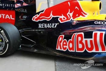 Sebastian Vettel, Red Bull Racing rear