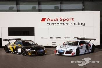 The Team Phoenix Racing Audi R8 LMS