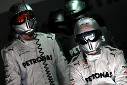 Mercedes GP mechanics
