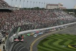 Start: Danica Patrick, JR Motorsports Chevrolet leads the field