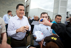 Republican Party candidate Mitt Romney