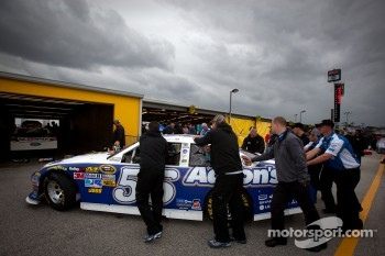 Car of Mark Martin, Michael Waltrip Racing Toyota at technical inspection