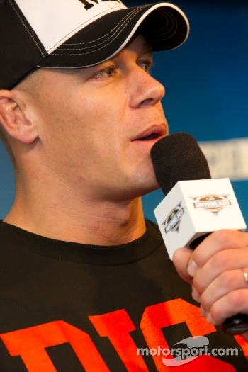 Press conference: professional wrestler John Cena