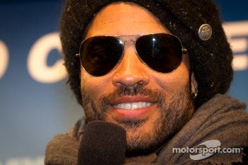 Press conference: Daytona 500 pre-race show performer Lenny Kravitz