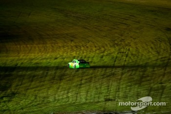Danica Patrick, Stewart-Haas Racing Chevrolet in the grass