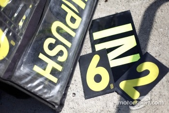 Pit board numbers
