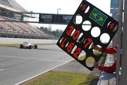 Felipe Massa, Scuderia Ferrari pit board