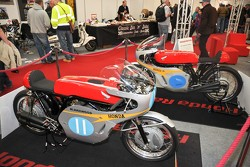Historic Honda Racing Bikes from the 1960's