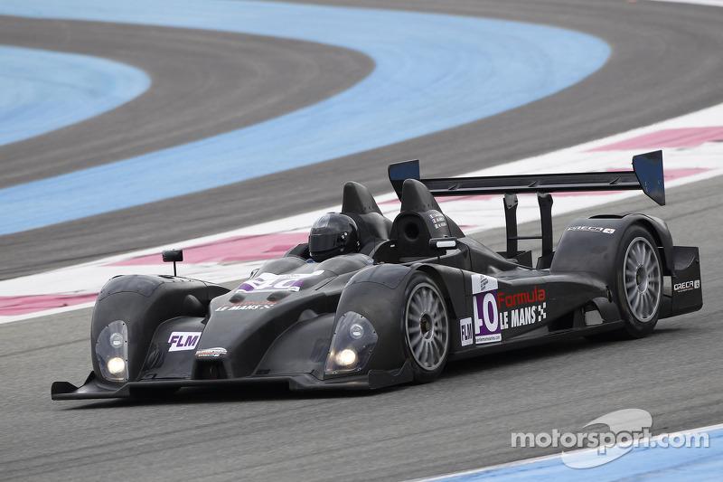 #40 Boutsen Ginion Racing Oreca FLM09: Thomas Dagoneau, Massimo Vignali, Jesus Diez Villaroel, Jean-Marc Merlin