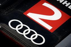 #2 Audi Sport Team Joest Audi R18 detail