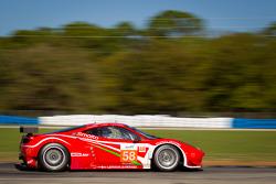 #58 Luxury Racing Ferrari F458 Italia: François Jakubowski, Pierre Ehret, Dominik Farnbacher