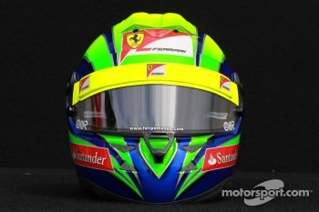 Felipe Massa, Scuderia Ferrari helmet 