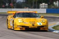 Historical photos of Corvette Racing
