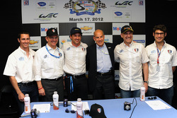 Patrick Dempsey Racing ALMS announcement