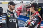 Jimmie Johnson and Jeff Gordon, Hendricks Motorsports Chevrolet