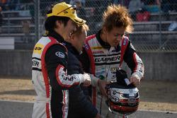 GT300 winners Tetsuya Tanaka and Katsuyuki Hiranaka