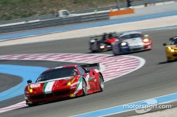 #60 AF Corse Ferrari 458 Italia, Piergiuseppe Perazzini, Marco Cioci, Matt Griffin