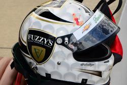 Helmet of Ed Carpenter, Ed Carpenter Racing Chevrolet
