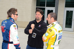 Marco Andretti, Andretti Autosport Chevrolet, Michael Andretti and Tony Kanaan, KV Racing Technology Chevrolet